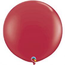 3ft Giant Balloons - Maroon Latex Balloon 1pc